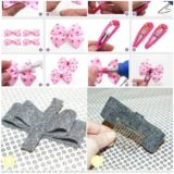 Wonderful DIY 2 hair clips