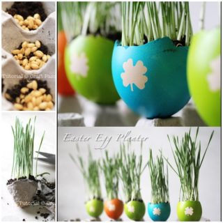 Wonderful DIY Easter Egg Planters