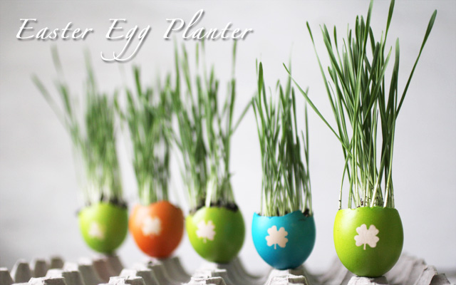 DIY Easter Egg Planters wonderfuldiy2 Wonderful DIY Easter Egg Planters