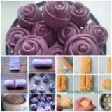 Wonderful DIY creative rose steamed bread