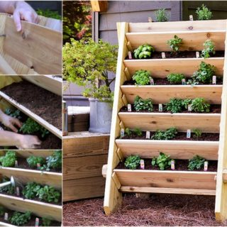 DIY Vertical Pallet Planter For The Garden