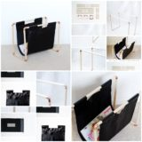 Wonderful DIY Magazine Rack
