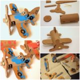 Wonderful DIY Toilet Roll Airplanes