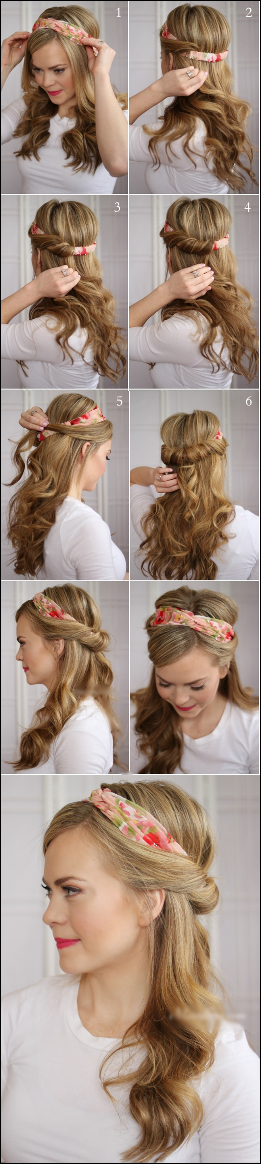 Tuck and Cover Half m Wonderful DIY Tuck and Cover Half hairstyle