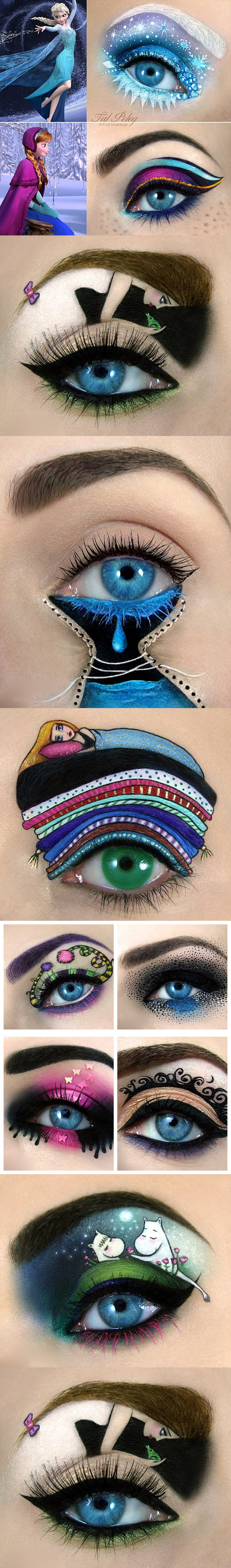 art of makeup f vert Wonderful eye art of make up