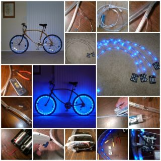 Wonderful DIY Bicycle Rim Lights