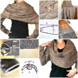 Wonderful DIY Bolero Wrap