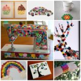 18 creative  button crafts