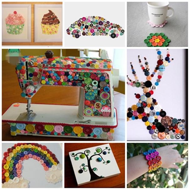 18 creative button crafts