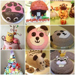 9 wonderful and creative cakes