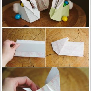 Wonderful DIY craft bunny