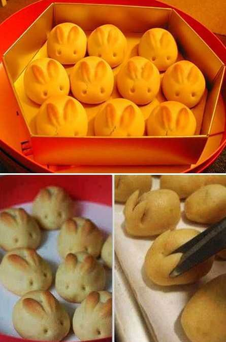easter bunny bread wonderfuldiy Wonderful DIY Sweet Bunny Bread