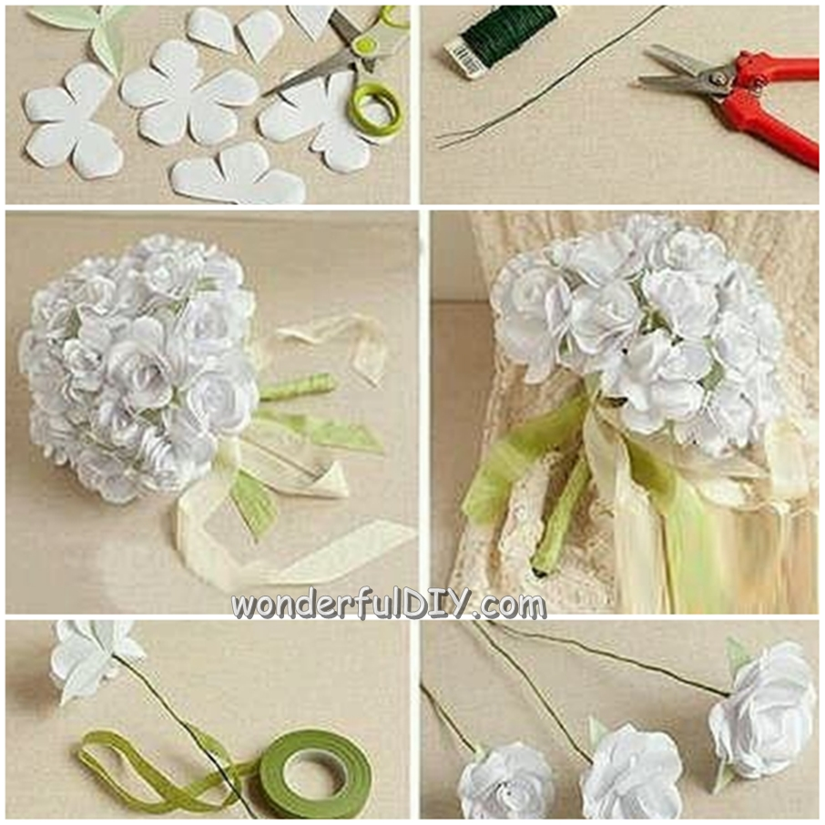 Wonderful diy flower bouquet for wedding izmirmasajfo