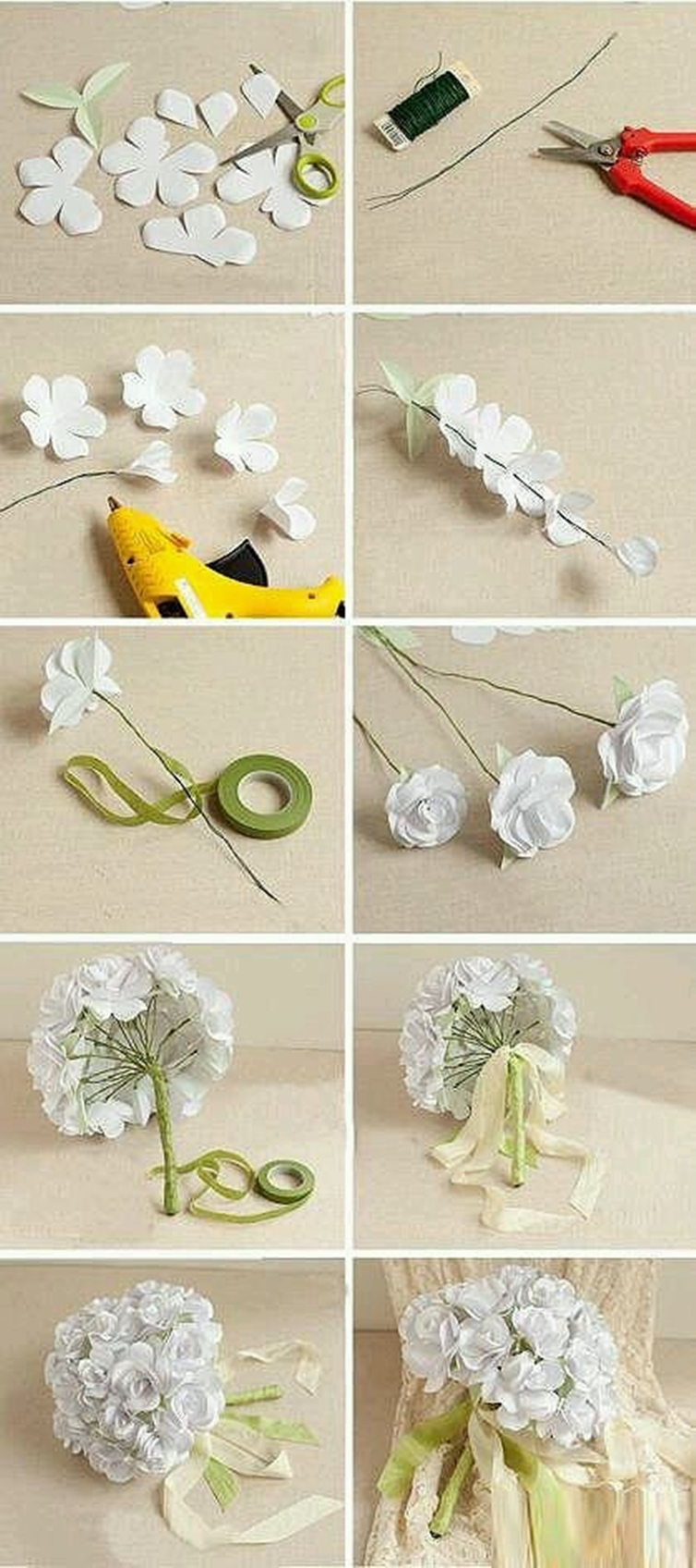 wonderful diy flower bouquet for wedding. Black Bedroom Furniture Sets. Home Design Ideas