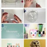 Wonderful DIY lovely owls Out of coke bottle