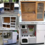 Wonderful DIY Play Kitchen from TV cabinets