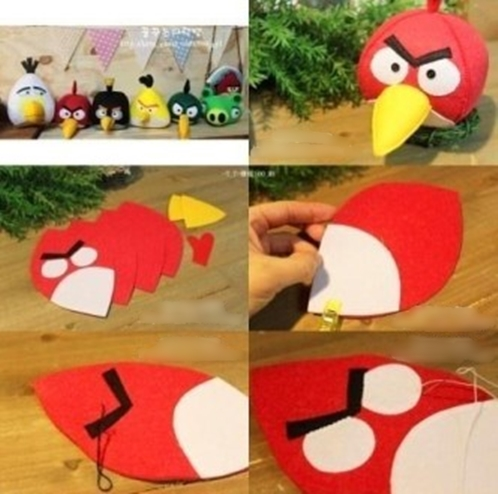 Wonderful Diy Angry Bird Toys