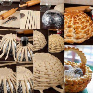 Wonderful DIY Braided Bread  Basket