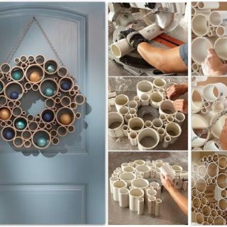Wonderful DIY Door Wreath