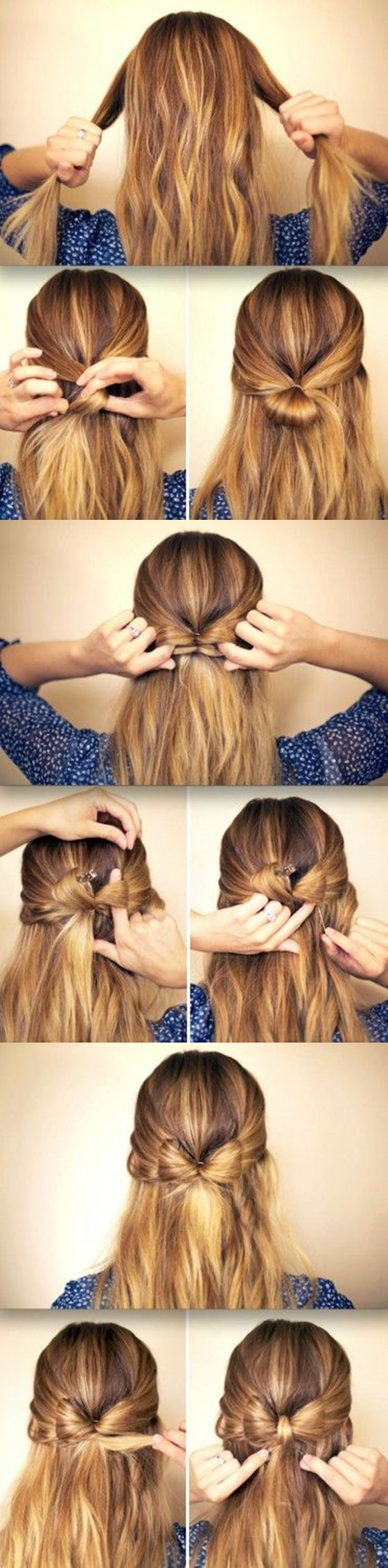 Elegant-Bow-Braided-Hairstyle M