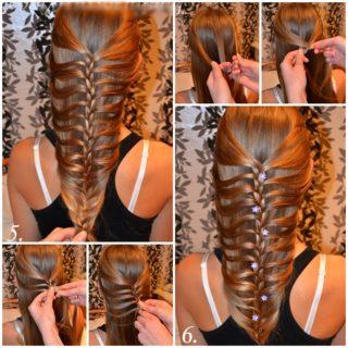 Wonderful DIY Fishtail Braid Haristyle