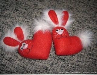 Wonderful DIY Cute Heart Bunny
