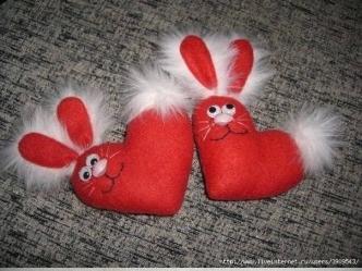Heart Bunny F