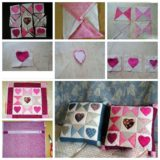 Wonderful DIY Heart Checker Cushion