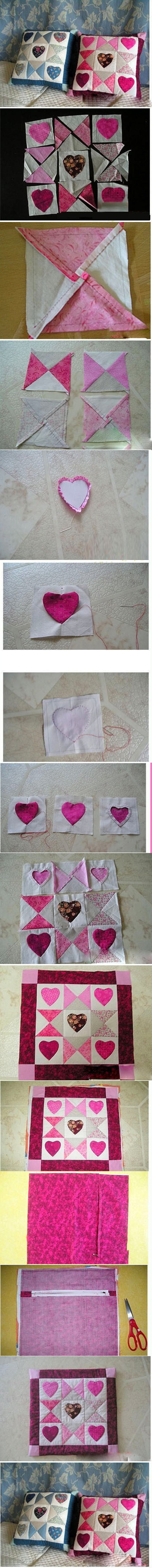 Heart Cushion M Wonderful DIY Heart Checker Cushion