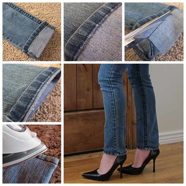 Hem Jeans F Wonderful DIY Shorten Long Jeans But Keeping The Orignal Hem