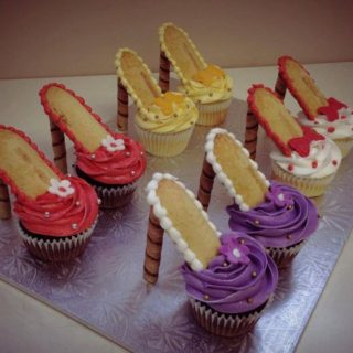 Homemade High Heel Cupcakes [Video Tutorial]