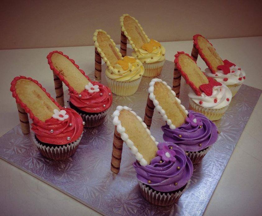 High Heel Cupcakes M Homemade High Heel Cupcakes [Video Tutorial]