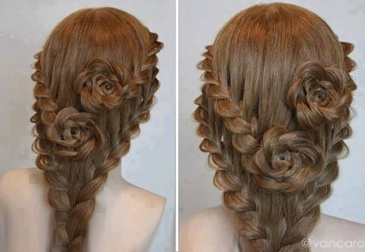 Lace Braid Rose Hairstyle Luxurious Lace Braid Rose Hairstyle Guide
