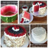 Wonderful DIY No Bake Watermelon Cake