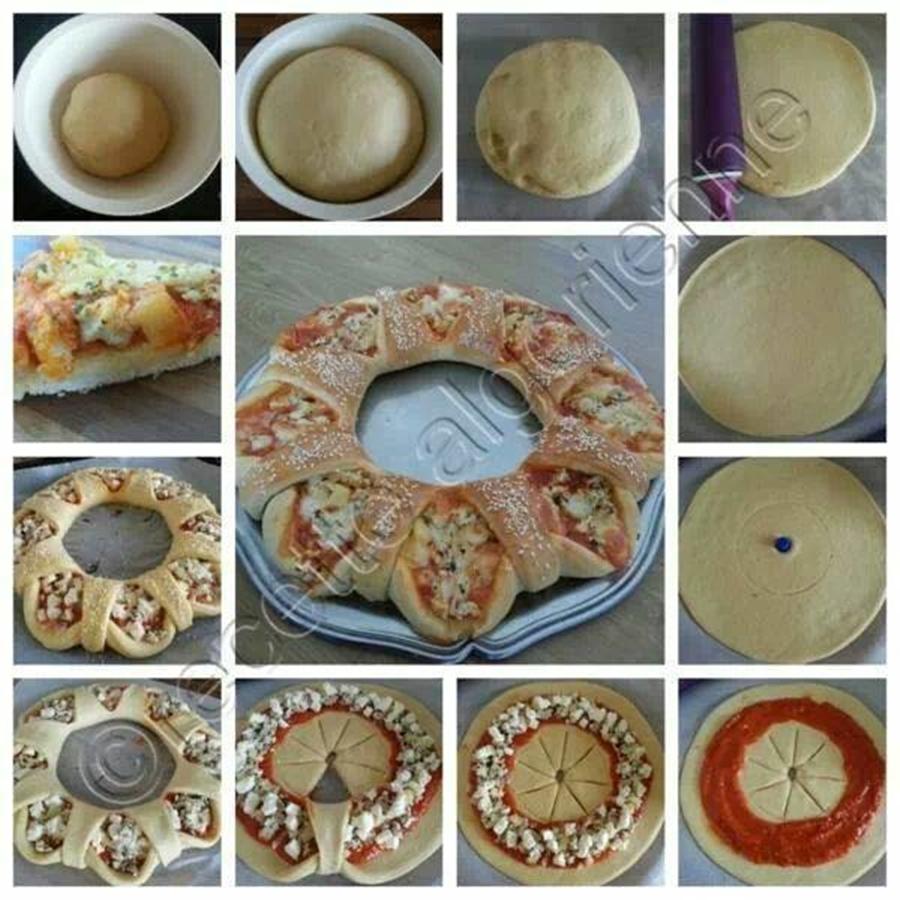 Pizza Corona m Wonderful DIY Corona Pizza
