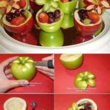 Wonderful DIY Pretty Apple Bowls