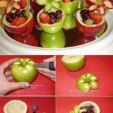 Wonderful DIY Pretty Apple Bowls