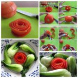 Wonderful DIY Rose Tomato