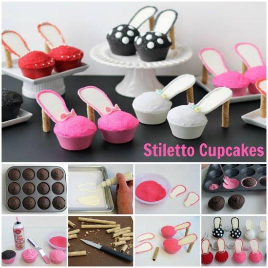 Stiletto Cupcakes wonderfuldiy Homemade High Heel Cupcakes [Video Tutorial]