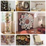 10 Wonderful  Ideas for Bookshelf