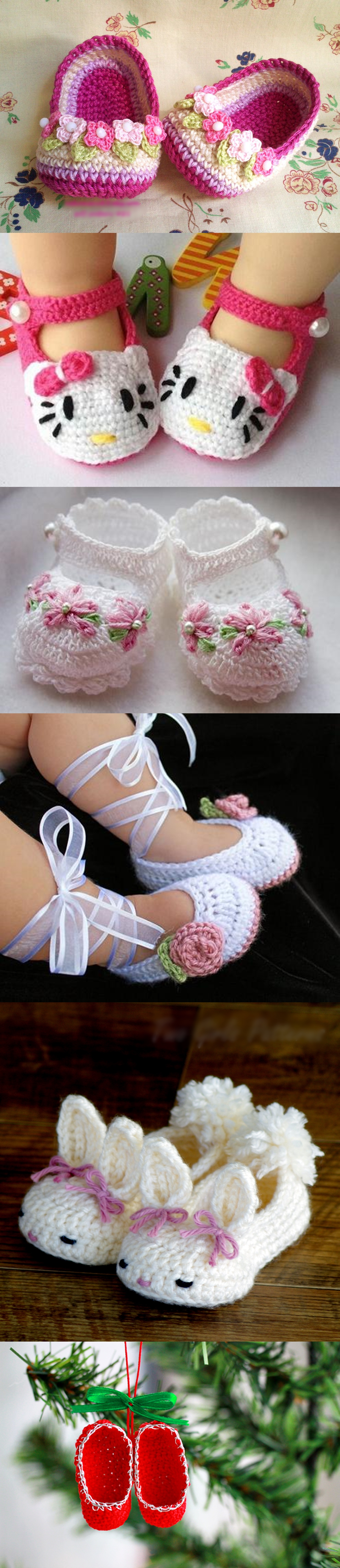 crochet baby slippers M1 Wonderful DIY Crochet Baby Slippers