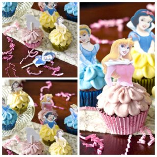 Wonderful DIY Disney Princess Cupcakes