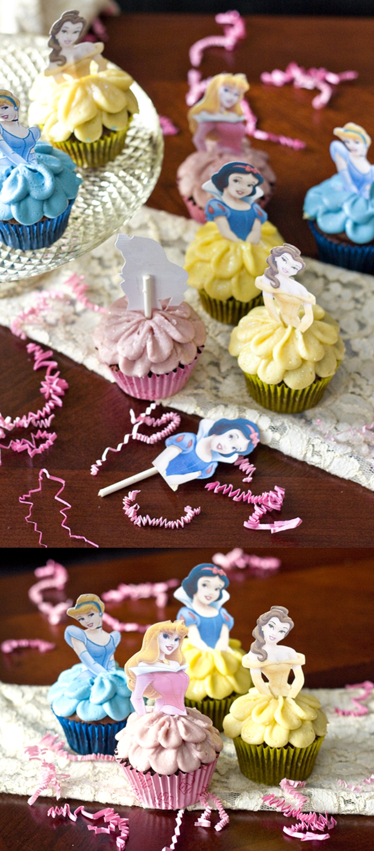 VIEW IN GALLERY Disney Princess Cake M Wonderful DIY Cupcakes