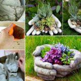 Wonderful DIY Hands Garden