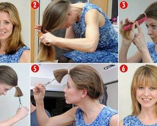 Wonderful  DIY for Cutting Your Own Hair Easily