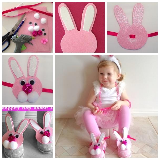 hoppity hop rabbit feet shoe Wonderful DIY Hoppity Hop Rabbit Feet
