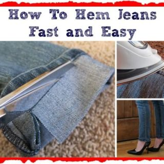 Wonderful DIY Shorten Long Jeans But Keeping The Orignal Hem