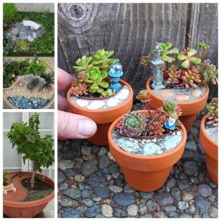 Wonderful Mini Garden Design