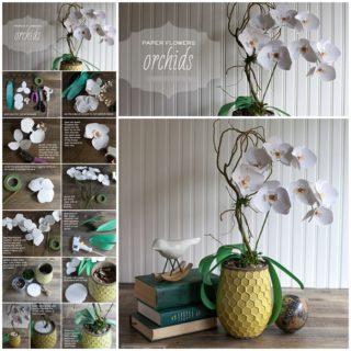 Wonderful DIY Paper Gorgeous Orchid