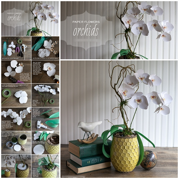paper orchid f Wonderful DIY Paper Gorgeous Orchid